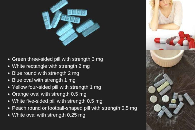 Types of Xanax Bars